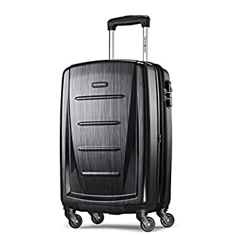 "Samsonite Winfield 2 Hardside 20"" Luggage, Brushed Anthracite"