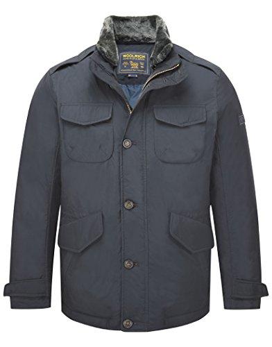 Woolrich Xxl Field Tg Wocps2217 Eu Blu Hudson Jacket Navy rfarxH
