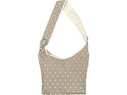 Priebes Marie die praktische Kinderwagentasche Design:polka grau