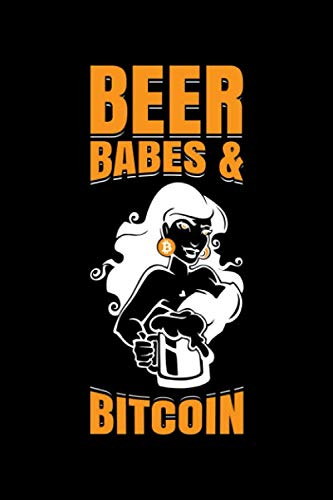Beer Babes & Bitcoin: Bitcoin Notebook | Cool Cryptocurrency Blockchain Hodl Digital Crypto Currency Coin Journal Notepad (6