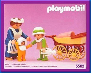 Playmobil Nanny Child and Baby 5502