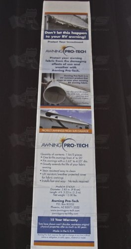 Awning Pro Tech 5743UV RV Patio Cover Piece