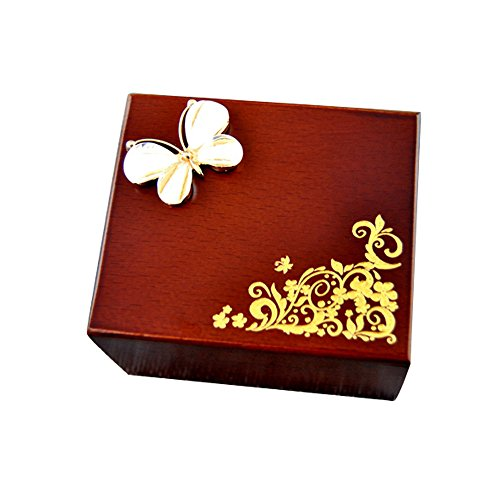 (YouTang Music Box, Rhinestone Wooden Musical Box,Musical Toys,Tune:You are My Sunshine)