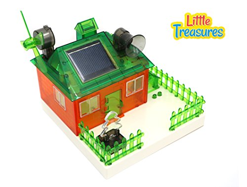Little Treasures Solar Powered Concept House Kit Is a Future Architect's Dream Toy!