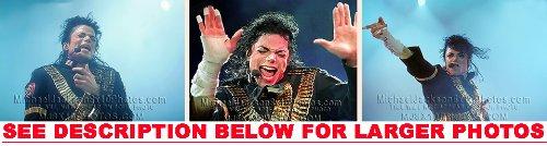 Michael Jackson Dangerous Tour Stage 3 Rare Fine Art Photos