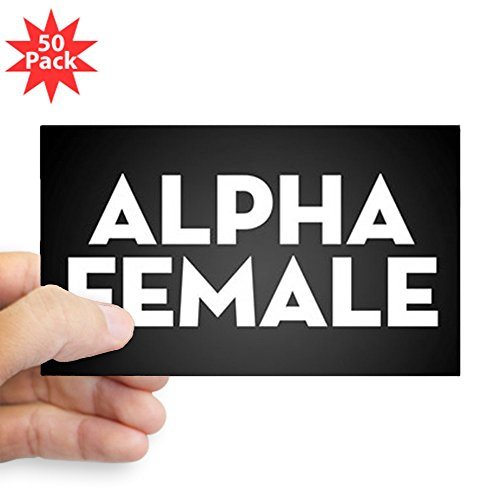 CafePress - Alpha Female - Sticker (Rectangle 50 pk) by CafePress