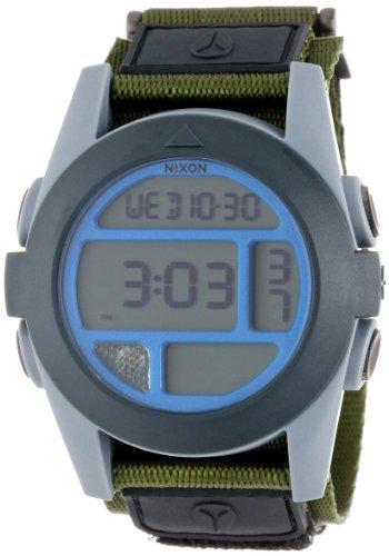 Nixon Men's A489-1376-00 Baja Digital Display Japanese Automatic Grey Watch