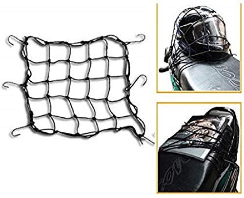 Gadget Universal Multipurpose Super Strong Bike seat net/Bungee Net for All Bikes