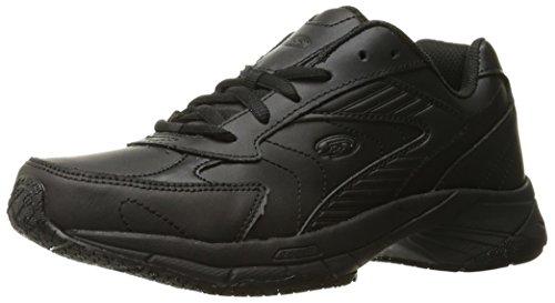 Dr. Scholl's Shoes Women's Destiny Uniform Dress Shoe, Black, 6.5 W US