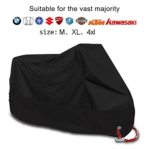 XXXXL Durable Motorcycle Cover Waterproof Dustproof UV Pr...