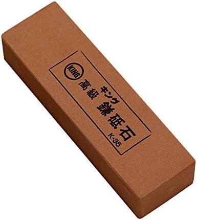 キング 高級鎌砥石 K-35 129x39x26  粒度:#800 中仕上げ用