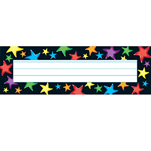 - TREND enterprises, Inc. Gel Stars Desk Toppers Name Plates, 36 ct