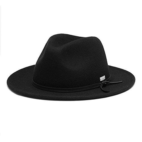6837744b12a6d Original Chuck by Mark McNairy Men s Fedora Wool Hat L XL Black - Buy  Online in UAE.