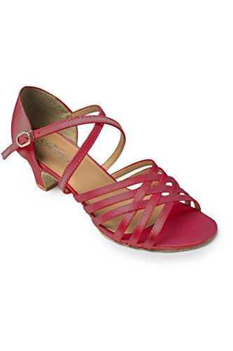 Danca Chaussures Femme de So de Société Burgundy Burgundy et Danses Latines Rouge Bl180 gw4xnZ