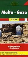 Carte routière : Malta, Gozo, Touristische Informationen, Autofähren par Freytag