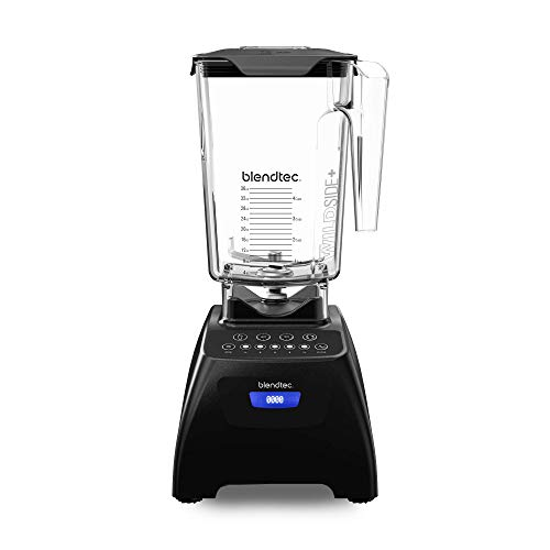 Blendtec Classic 575 Blender - WildSide+ Jar (90 oz) - Professional-Grade Power - Self-Cleaning - 4 Pre-programmed Cycles - 5-Speeds - Black (Cheap Items To Sell At Flea Markets)