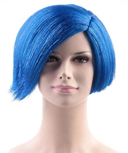 Sadness Wig, Blue Adult HW-138