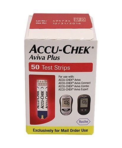 Accu-Chek Accu-Chek Aviva Plus Test Strips by Accu Chek (Accu Chek Aviva Plus Nfr Test Strips)