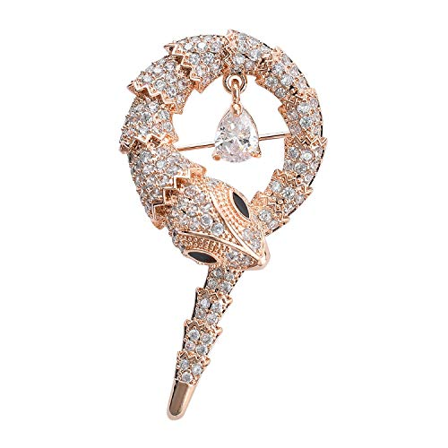 MOHTASHAM a Beautiful Collection of brooches pins for Women and Girls (Snake)