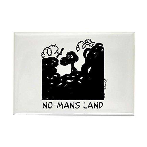 CafePress - No-Man's Land - Rectangle Magnet, 2