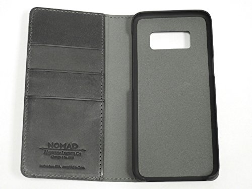 Nomad Leather Folio Case for Samsung Galaxy S8 (Smaller Version) Slate Gray by Nomad (Image #2)
