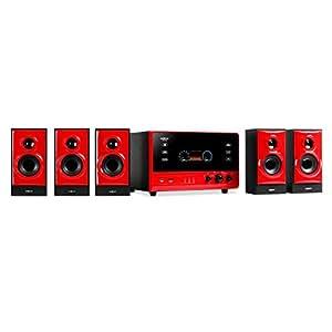 oneConcept V51 - Sistema de audio rojo