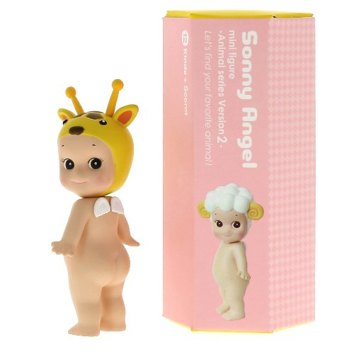 Kewpie Doll Plastic (Sonny Angel / Mini Angel Animal Collection 2, One Assorted)