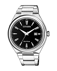 Citizen Men's Solar Powered Wrist watch, stainless steel Bracelet analog Display and Stainless Steel Strap, AW1370-51F