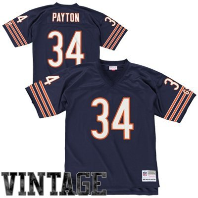 Mitchell & Ness Walter Payton Chicago Bears Throwback Jersey Large ()