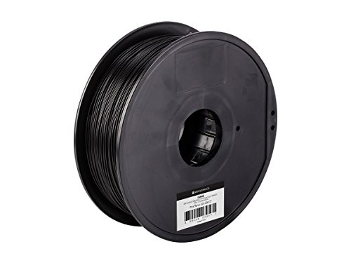 Monoprice 115848 ABS Plus+ MP Select ABS Plus+ PREMIUM 3D Filament, 1 kg 1.75 mm, black, 1.75 mm Diameter