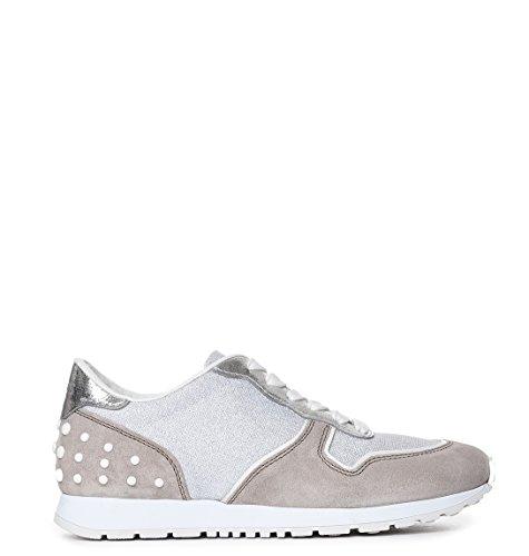 Women's Xxw0yo0p260fy60zdt Beige Tod's Sneakers grey Suede fdxfqgw