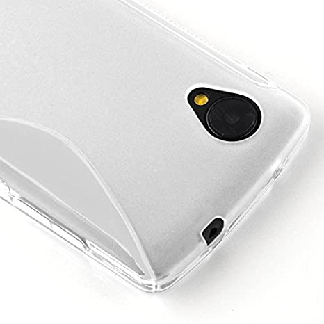 Amazon.com: Cadorabo – Carcasa de silicona s-line SLIM-FLEX ...