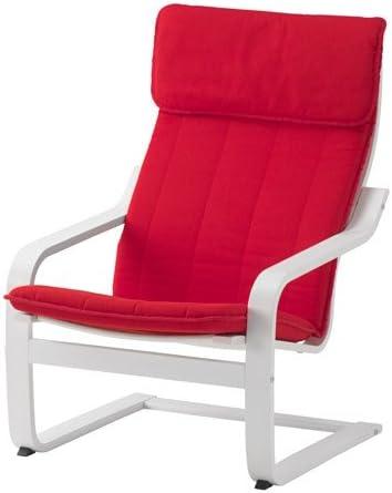Amazon.com: Ikea Chair, white, Ransta red 6204.20112.2234 ...