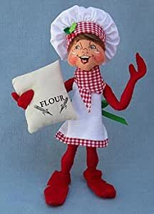"Annalee 9""Christmas Chef Elf with Bag of Flour"