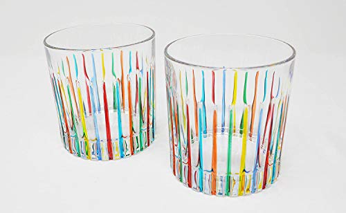 Authentic Italian Highball Glasses, Timeless, Set of 2 by My Italian Decor (Image #3)