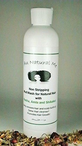 Au Natural Me Non Stripping Mud Wash for Natural Hair, 8oz