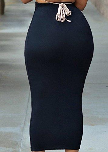 de Mode Hanche Noir Package Haute Midi Soire Moulante Sexy Taille Femmes Fte Jupe Jupes New fPwxFF