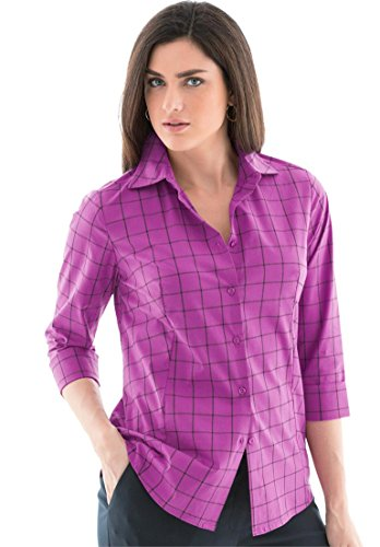 Jessica-London-Womens-Plus-Size-Poplin-Shirt