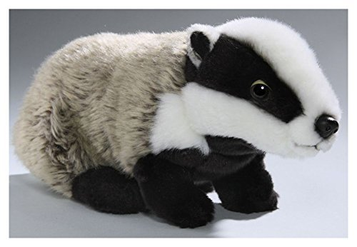Carl Dick Badger 11 inches, 28cm, Plush Toy, Soft Toy, Stuffed Animal 2878 ()