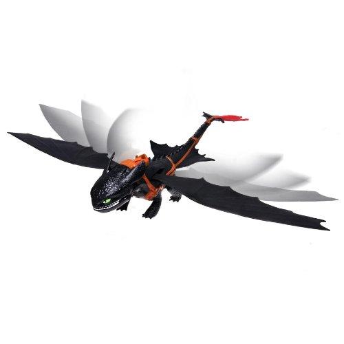 DreamWorks Dragons Defenders of Berk - Giant Fire Breathing Toothless - Fire Dragon Blue Breathing