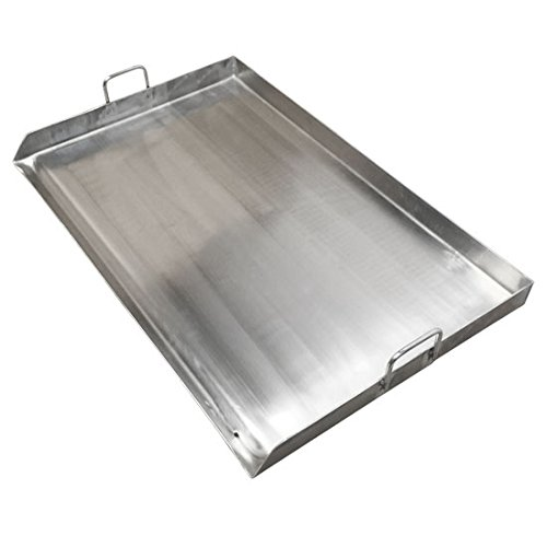 Stainless Griddle Plancha Double Burner
