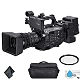 Sony PXW-FS7M2 4K XDCAM Super 35 Professional Camcorder with 18-110mm Zoom Lens - Bundle with Carrying Case + More