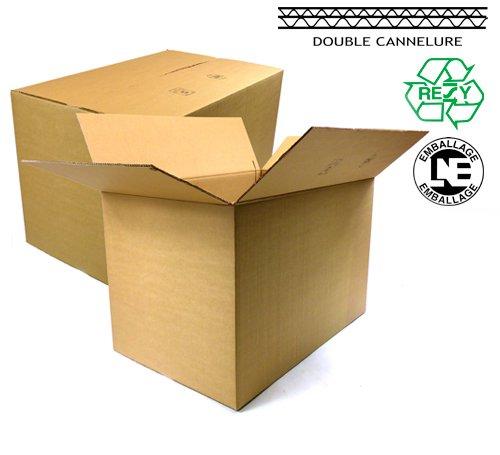 packdiscount - Caja cartón doble ondulado 60x40x30 cm: Amazon.es: Oficina y papelería