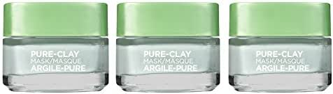 Facial Treatments: L'Oreal Paris Purify & Matify Pure-Clay Face Mask