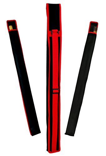 "PROWIN1 Escrima (Kali, Arnis) Stick Carrying Bag Canvas Case 28"" Long, Adjustable Shoulder Strap"