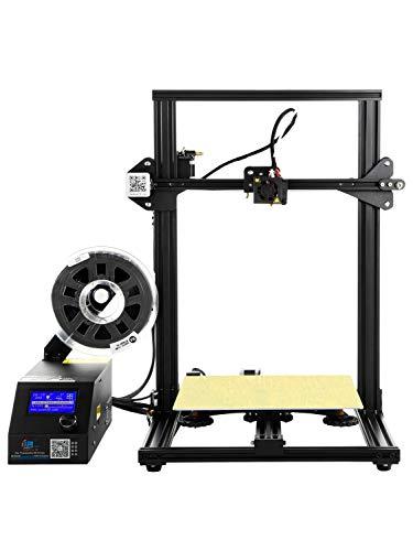MXL Impresora 3D CR-10 con Cama Caliente y Volumen de construcción Grande 300X300X400mm