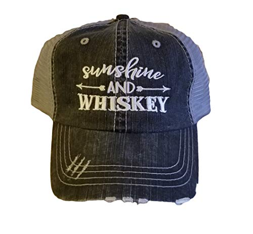 Sunshine Whiskey Low Profile Black/Gray Women Cap