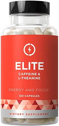 Elite Caffeine L Theanine Jitter Free Performance