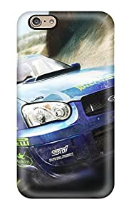 Excellent Iphone 6 Case Tpu Cover Back Skin Protector Subaru Rally Car In Speed