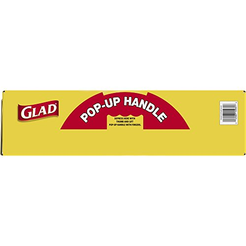 Glad Tall Kitchen Quick-Tie Trash Bags - 13 Gallon - 200 Count by Glad (Image #5)